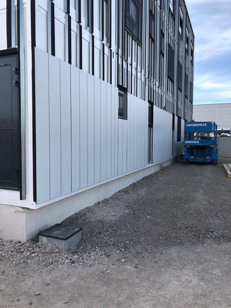 Bâtiment tertiaire à usage de bureaux pour la SNCF