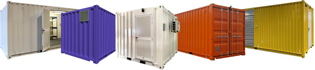 Avelis gamme containers aménagés