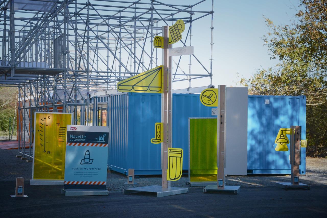 Containers maritimes aménagés pour événementiel
